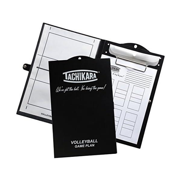Tachikara Game Plan Dry Erase Volleyball Clipboards, Black/White by Tachikara
