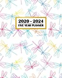 2020-2024 Five Year Planner: Pretty Dragonfly Insect Line Art   60 Month Calendar and Log Book   Business Team Time Management Plan   Agile Sprint   ... 5 Year - 2020 2021 2022 2023 2024 Calendar)