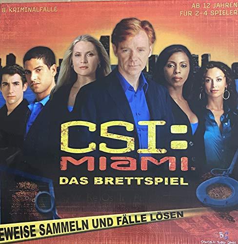 Piatnik Vienna CSI Miami, Das Brettspiel