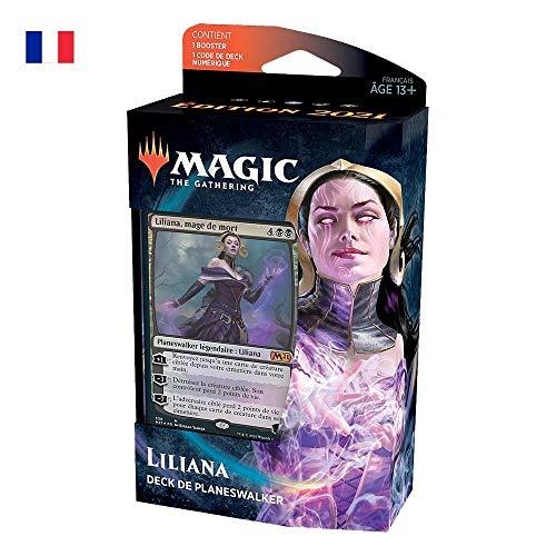 Deck de planeswalker Liliana, mage de mort Magic: The Gathering Édition de base 2021 – Version française