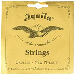 The latest Nylgut model 4U soprano uke strings Regular Key of C Tuning: G C E A Highly polished and smooth surface Elevated resistance to wear under tension - greater than that of gut Made in Italy