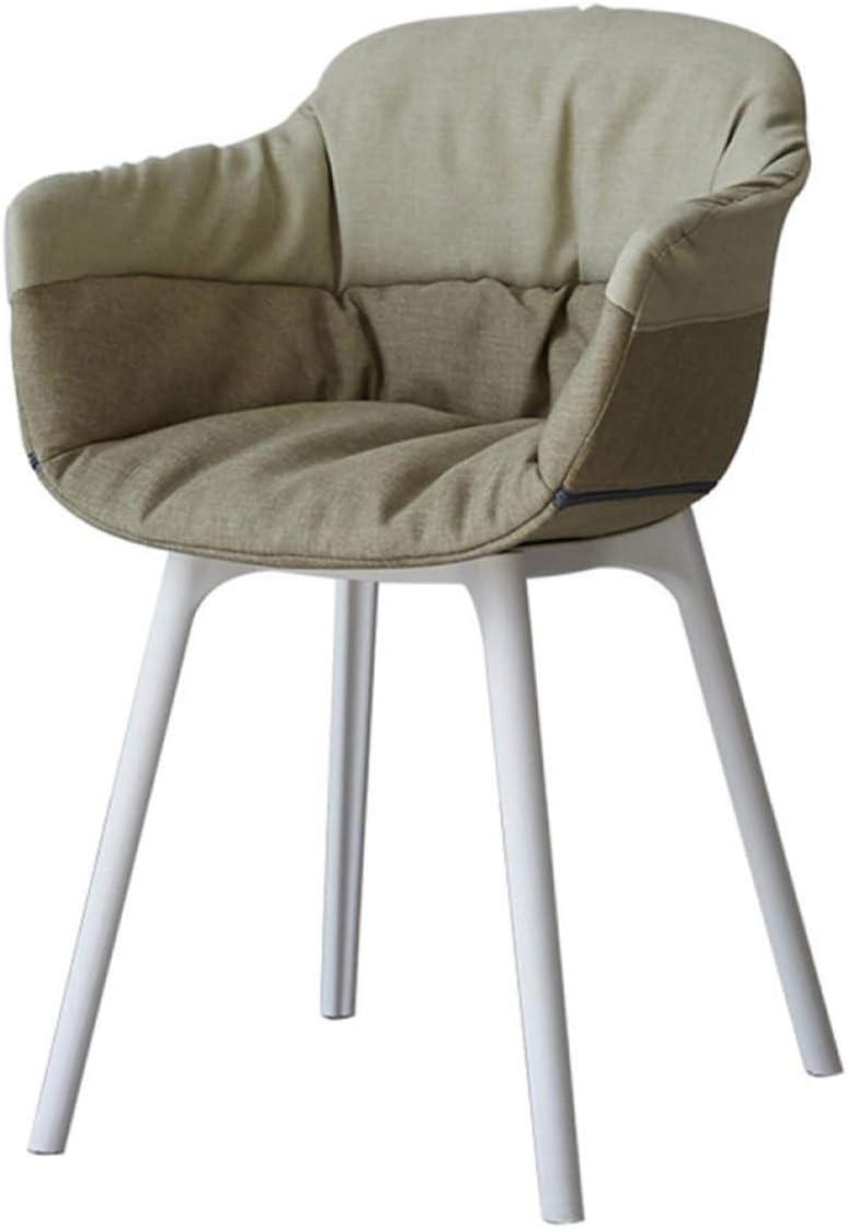 Zyuan Chaise Confortable Chaise De Café De Bureau D'ordinateur Unique Tabouret Chaise Lieu À Domicile Maquillage Occasionnel Sac Souple ShanDD (Color : C) C