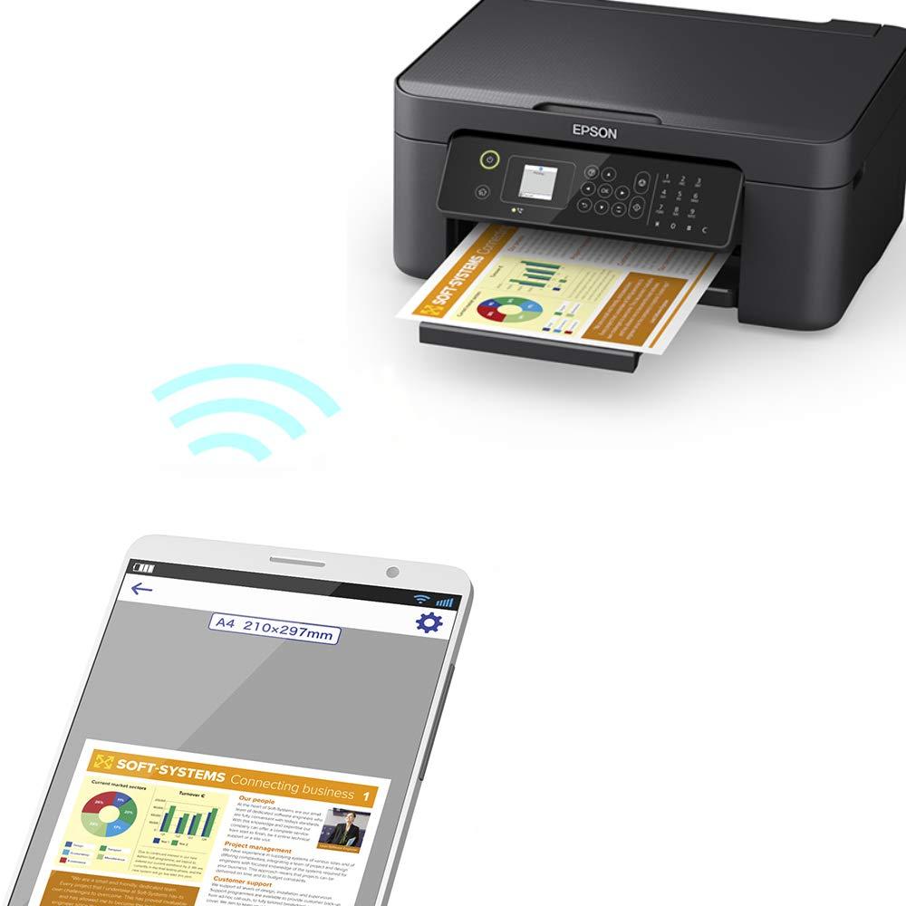 Epson WorkForce WF-2810DWF - Impresora multifunción de inyección de tinta 4 en 1 (impresora, escáner, copia, fax, WiFi, dúplex, cartuchos individuales, DIN A4), color negro: Epson: Amazon.es: Informática