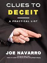 Clues to Deceit: A Practical List