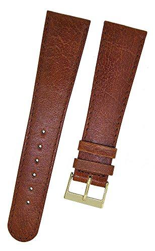 Fortis Leder Uhrenarmband Braun mit brauner Naht 20mm 8808
