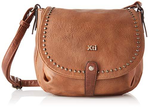 XTI 86356, BOLSO SRA. C. CAMEL para Mujer, Talla