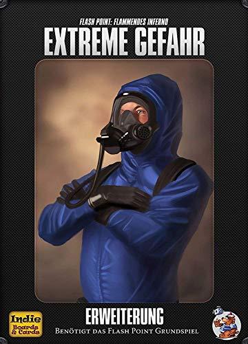 Asmodee Flash Point: Flammendes Inferno - Extreme Gefahr Brettspiel, Erweiterung