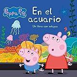 En el acuario (Peppa Pig. Pequeñas manitas): Un libro de cartón con solapas
