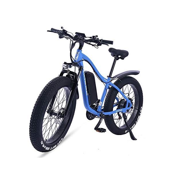 51BN TTqScL. SS600  - ride66 e Bike Mountainbike ebike Herren Damen 26 Zoll 1000W 48V 16Ah Fatbike