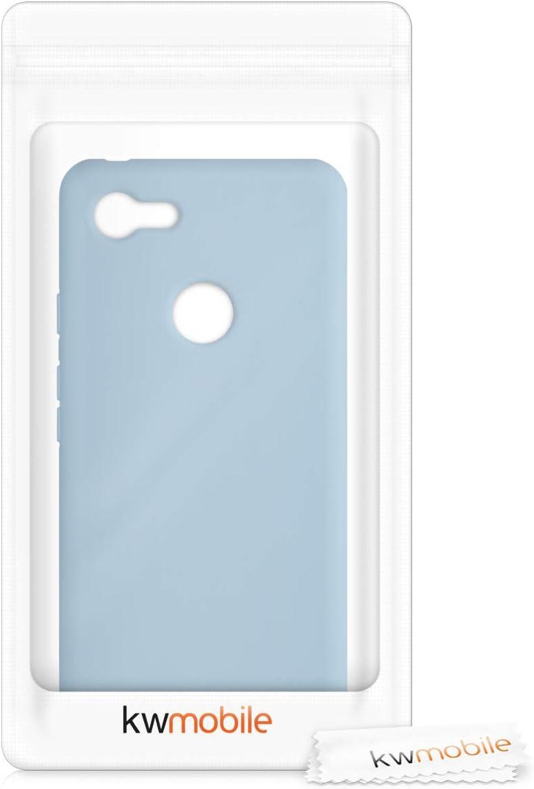 Protector Trasero en Amarillo Mate kwmobile Funda Compatible con Google Pixel 3 XL Carcasa de TPU Silicona