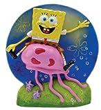 Penn-Plax Spongebob reitet auf Einer Qualle ca. 9,5 cm