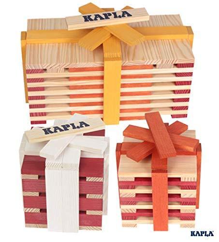 KAPLA OCTOCOLOR, 100 Holzplättchen, 8 verschiedene Farben - 8