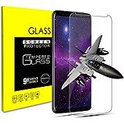 klpdz Panzerglas Schutzfolie für Samsung Galaxy S9 Plus, Anti-Öl, 9H Härte, Anti-Kratzen, Panzerglasfolie Gehärtetem Glas Displayschutzfolie Folie für Galaxy S9 Plus