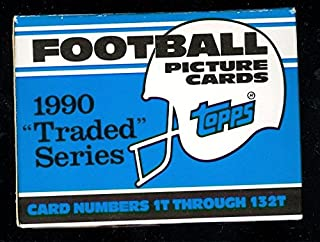 1990 Topps Traded Football Complete Box Set Emmitt Smith Rookie Card RC
