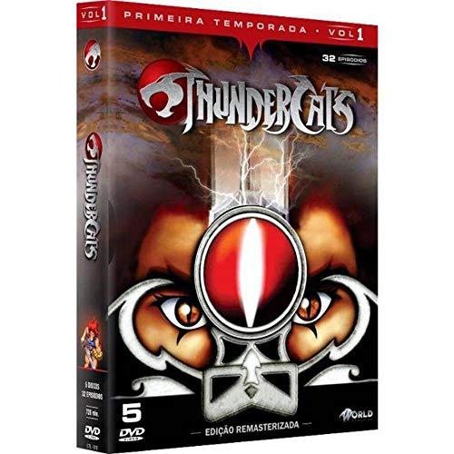 Thundercats 1ª Temporada Volume 1 Digibook 5 Discos