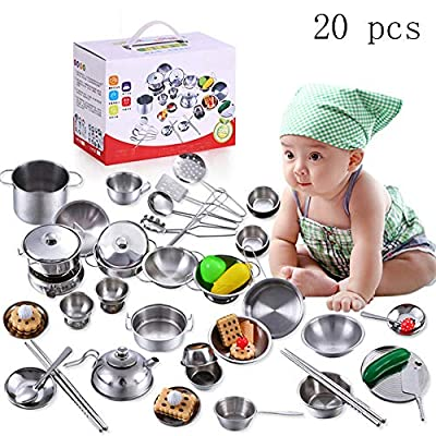 Clearance Kitchen Play Toy,Cooking Utensils Set...