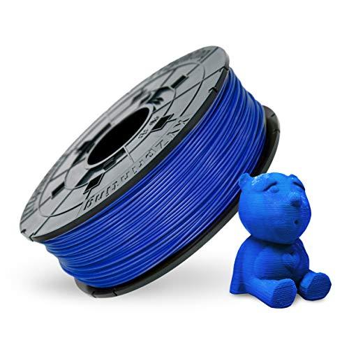 XYZprinting RF10BXEU03K Filamento Recambio ABS, 600 gr, 12 Piezas, Azul Acero