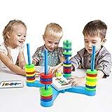 nicknack Juego de Mesa, Juegos de Cartas a Juego para niños, Juguete magnético para niños de 3,...