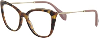 Women's Eyeglasses VMU02Q VMU/02Q VX8/1O1 Havana Optical Frame 51mm