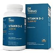 Dr Tobias Vitamin D3-5000 IU of Vitamin D-3 (90 Count)