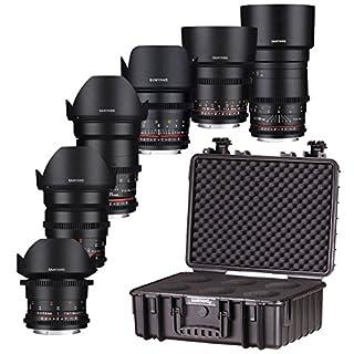 Samyang VDSLR Objektiv Kit für Canon EF Mount Mount Kamera–Schwarz (B01M0GPNX6)   Amazon price tracker / tracking, Amazon price history charts, Amazon price watches, Amazon price drop alerts