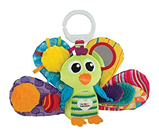 LAMAZE Clip & Go Peacock Jacque, Jacques The Peacock, One Size (B000I2MRLK) | Amazon price tracker / tracking, Amazon price history charts, Amazon price watches, Amazon price drop alerts