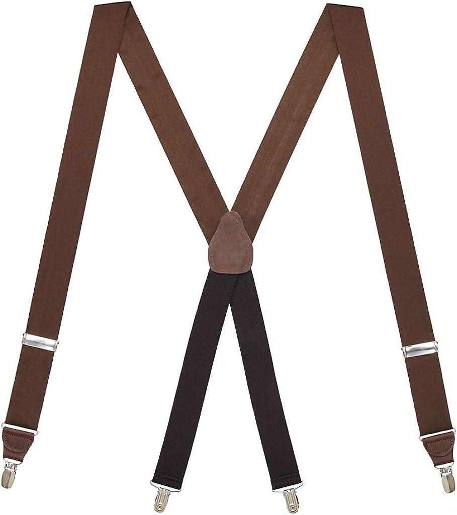 SuspenderStore Men's Bangkok Silk Suspenders - Button (8 Colors)