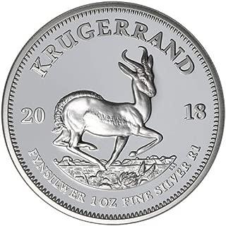 2018 ZA Silver Keugerand 2018 South Africa 1 oz Silver Krugerrand Proof $1 Proof DCAM