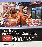 Tecnico en emergencias sanitarias sermas temario volumen 3