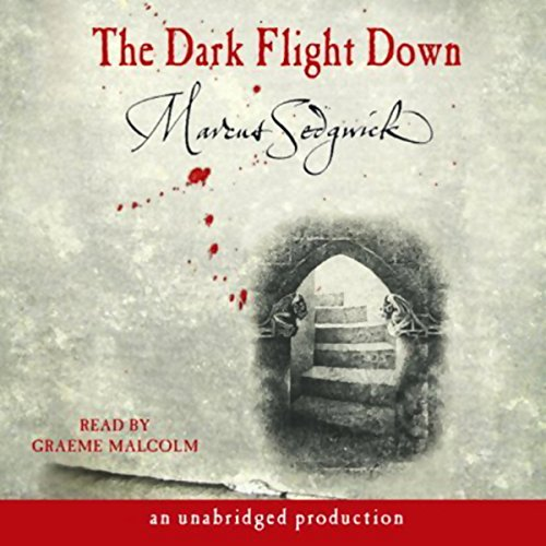 The Dark Flight Down audiobook cover art