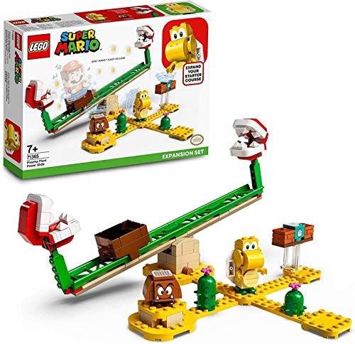LEGO71365SuperMarioJeu de construction - Ensemble d'Extension La balance de la Plante Piranha