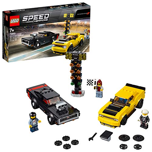 Lego Speed Champions - 2018 Dodge Challenger SRT Demon und 1970 Dodge Charger...
