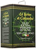 Le Terre di Colombo – 100 % Italienisches Natives Olivenöl Extra, Dose, 3 l