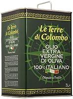 Bidon métallique de 3litres Huile obtenue à partir d'une pression à froid en Italie, et produite à partir d'olives cultivées localement Particulièrement recommandée sur les légumes, légumineuses et soupes Saveur fruitée et aromatique, à l'arrière-go...