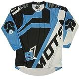 Mots MT2201LA Enduro E1 Camiseta, Azul, Talla L