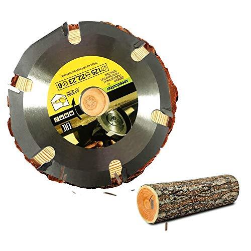 Wood Cirkelzaagblad Voor Haakse Slijpers, Cirkelzaag Blade Multi-Hulpmiddelmolen Zaagblad Carbide Tip Hout Snijden Disc Schnitzscheibe Tool Multi Tool Blades,Black