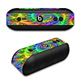 Skin Decal Vinyl Wrap for Beats by Dr. Dre Beats Pill Plus/Trippy Color Swirl