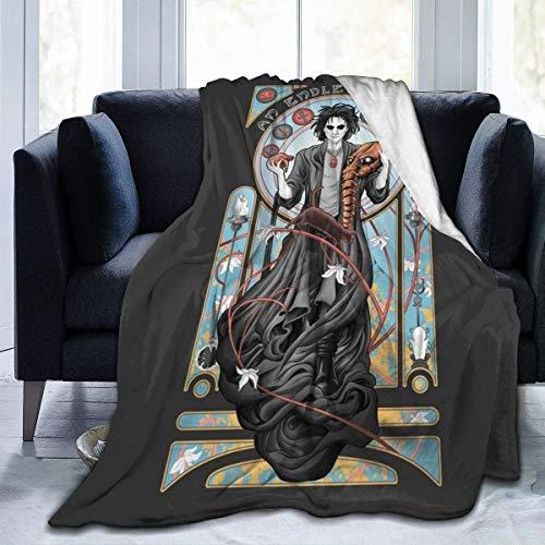 Kuscheldecke Decke Sofa Sandmann EIN endloser Traum Weiche Warme Fleecedecke Extra Flaushig und Plüsch Sofaüberwurf Decke 50