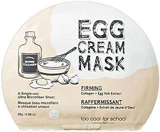 Too Cool For School Egg Cream Firming Mask Pack (5 stuks) 2016 Upgrade door te cool voor school