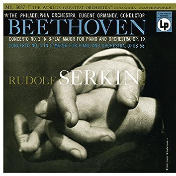Beethoven: Piano Concerto No. 4, Op. 58 & Piano Concerto No. 2, Op. 19