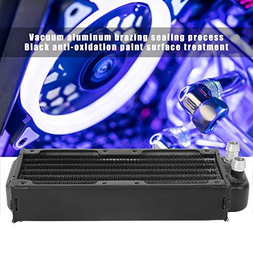 Intercambiador de calor de refrigeración por agua, disipador de calor de CPU portátil para equipos de belleza informática para refrigeración industrial para sistemas de refrigeración por