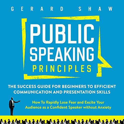 Public Speaking Principles cover art