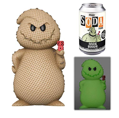 Funko- Vinyl Soda: The Nightmare Before Christmas-Oogie Boogie W/(GW) Chase Juguete Coleccionable, Multicolor (50922)