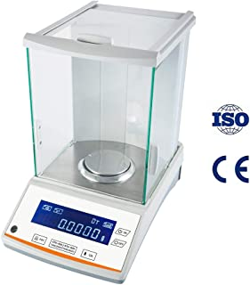 200 / 0.0001g 0.1mg Digital Analytical Balance Weighing Precision Lab Scale 110V