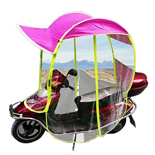 ZZZR Cubierta de sombrilla de Motocicleta eléctrica Universal, Cubierta de Paraguas de Dosel de Coche de batería, Cubierta Impermeable para Scooter
