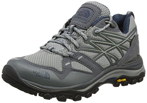 The North Face W HH Fp GTX (EU), Zapatillas de Senderismo Mujer, (Griffin Grey/Ink Blue), 37