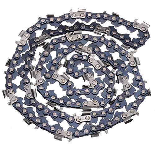 2 unids 20 pulgadas Cadena de motosierra Barra de la barra Cuchilla de madera Corte de madera 76 Enlaces de la unidad Reemplazo Partes de reemplazo Cueros de motosierra