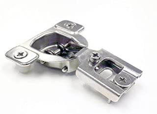 40 Pack BERTA Compact Contractors Grade Hinge with 40 PCS Installation Screws 4-Ways 2 CAM 1/2