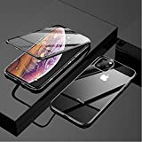 Mobyro Magnet Case i-Phone 11 Pro Max Auto-Fit Magnetic Adsorption 2-in-1 Metal Bumper