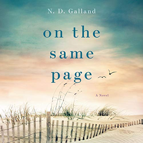 On the Same Page audiobook cover art
